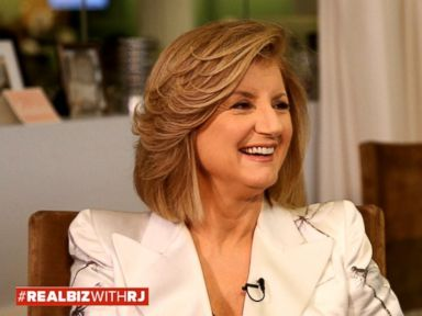 Watch:  Arianna Huffington on Real Biz with Rebecca Jarvis