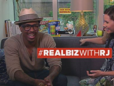 Watch:  Real Biz with Rebecca Jarvis: Why Nick Cannon Says You Shouldnt Pound the Pavement