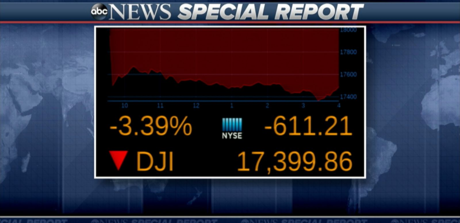 SPECIAL REPORT VIDEO: Dow Plunges After UK Votes to Leave European Union