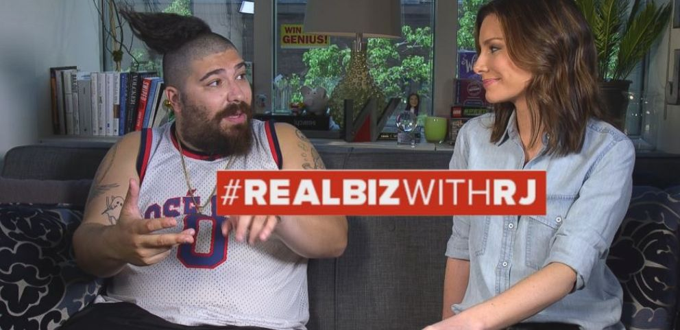 VIDEO: The Fat Jewish on Real Biz with Rebecca Jarvis