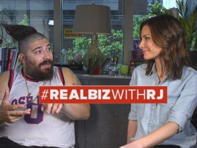 Watch:  The Fat Jewish on Real Biz with Rebecca Jarvis