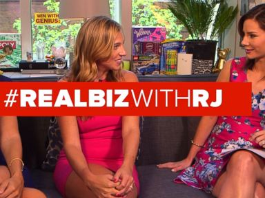 Watch:  Co-Founders of theSkimm on Real Biz with Rebecca Jarvis