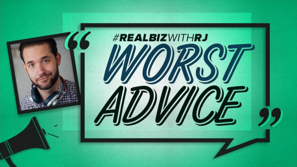 VIDEO: Worst Advice: Reddit Co-Founder Alexis Ohanian