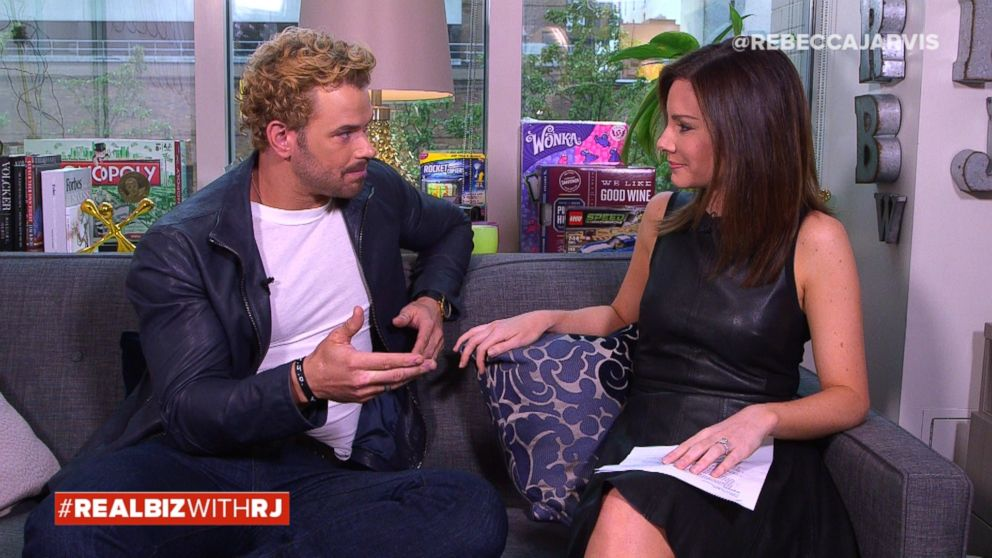 VIDEO: Kellan Lutz on Real Biz with Rebecca Jarvis