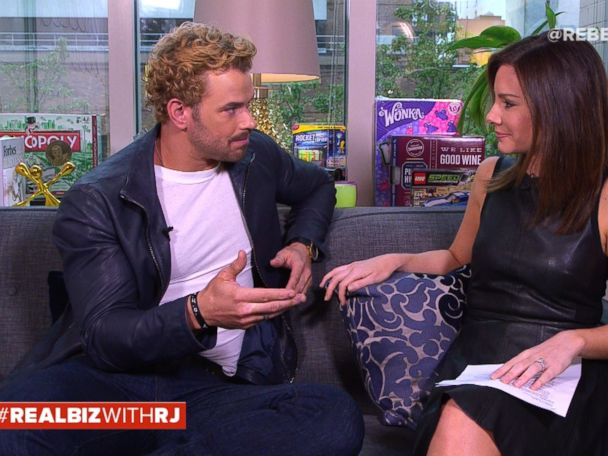 WATCH:  Kellan Lutz on 'Real Biz with Rebecca Jarvis'
