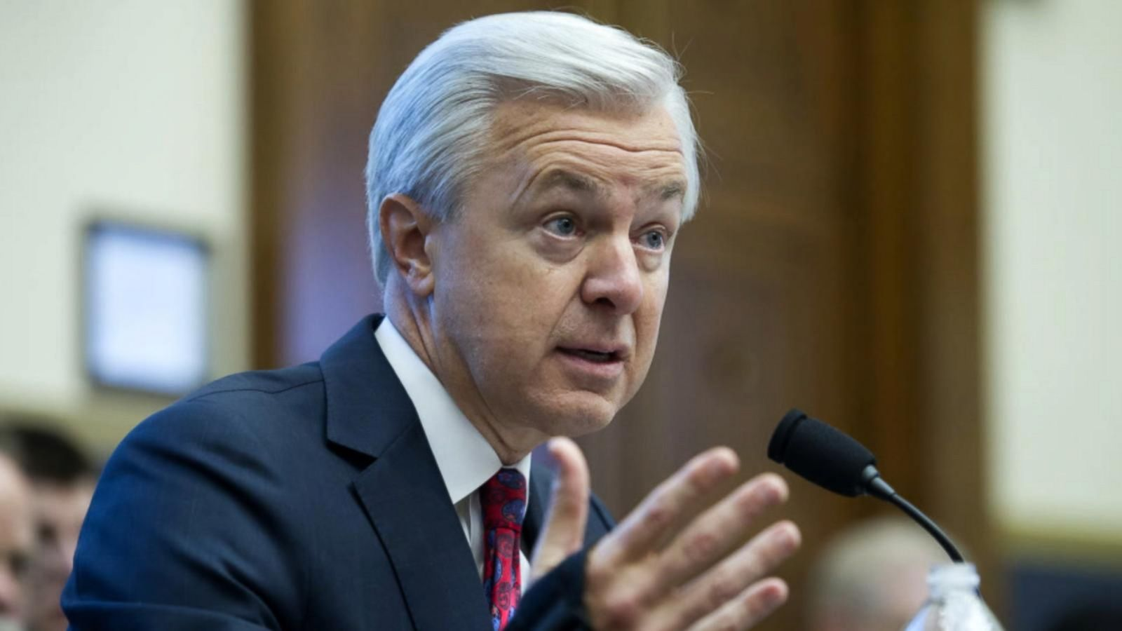 John Stumpf testified on Capitol Hill for the second time this month.