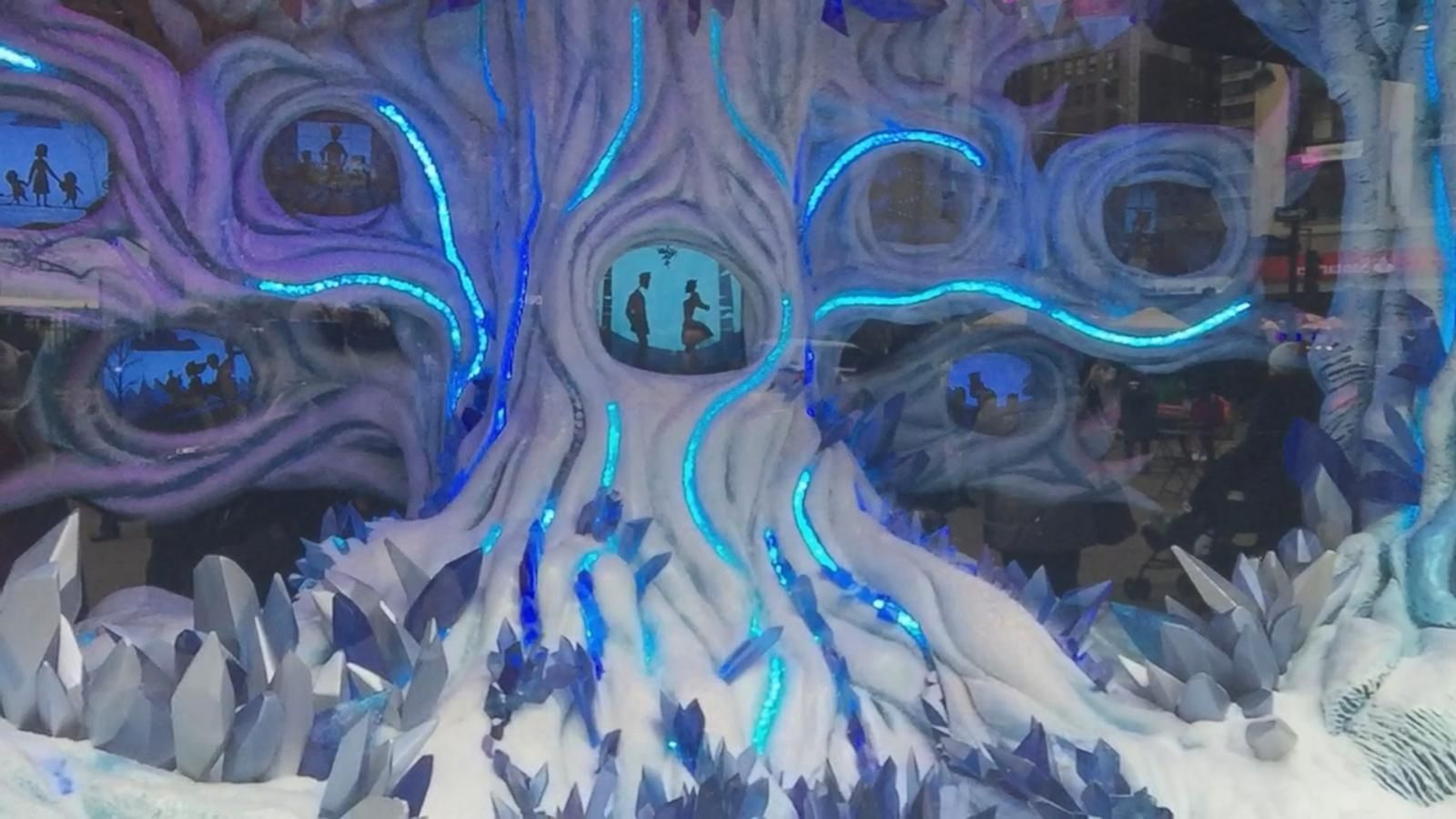 VIDEO: A Look at Macy's Holiday Window Display in New York City