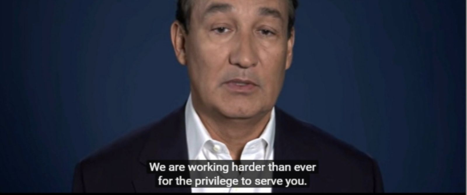 """This is just the beginning of how we earn back your trust,"" Oscar Munoz, CEO of United Airlines, said in a video apology. ""It's all about putting our customers at the center of what we do."