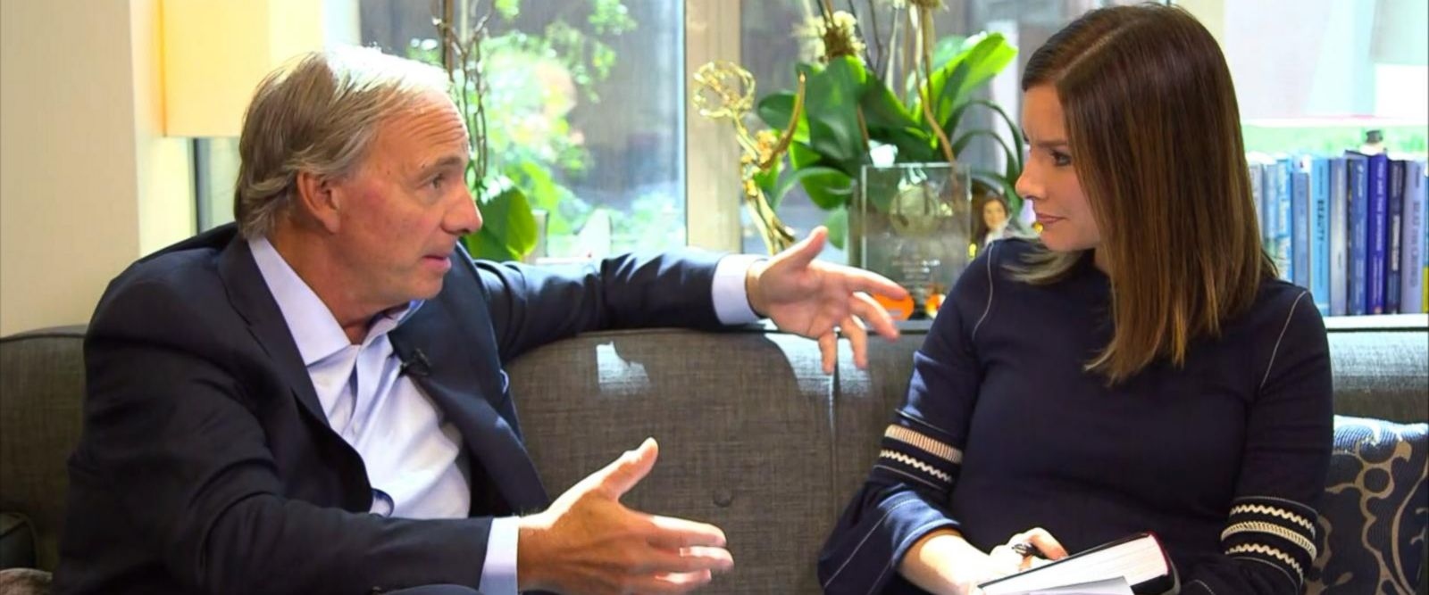 VIDEO: Bridgewater hedge fund manager Ray Dalio talks investing, leadership