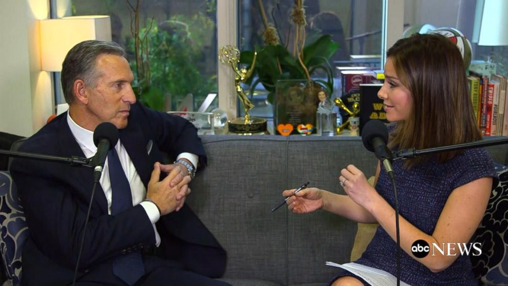 Starbucks Executive Chairman Howard  Schultz  on 'Real Biz With Rebecca Jarvis'
