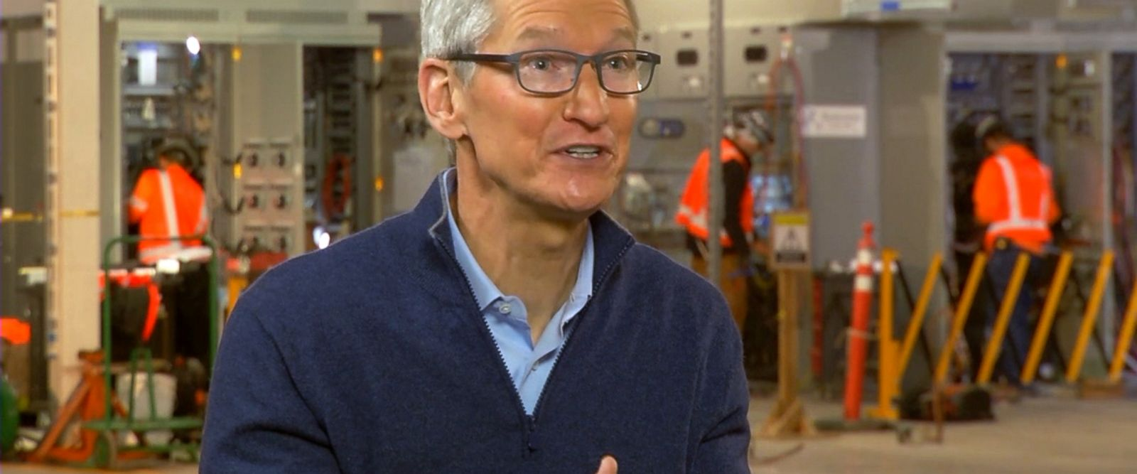 The new tax plan encouraged the company to invest over 350 billion in the US, Apple CEO Tim Cook told ABC News.