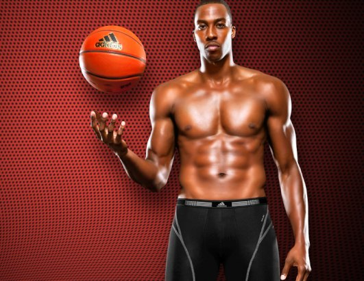 Basketball's Dwight Howard in Racy Ad
