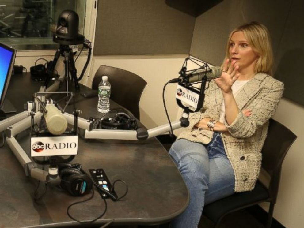 PHOTO: Editor-in-Chief of InStyle, Laura Brown records an episode of ABC Radios podcast No Limits with Rebecca Jarvis.