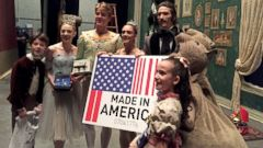 PHOTO: The New York City Ballet shared their US-made gift ideas with World News Tonight just in time for Made in America Christmas.
