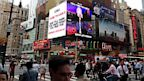 PHOTO: A CBS advertisement is seen in Times Square in New York, Aug. 2, 2013.