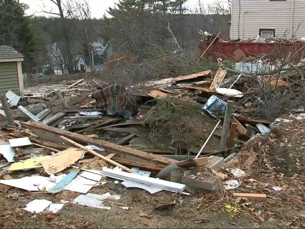 PHOTO: James Rhein reportedly bulldozed his home while his wife was away.