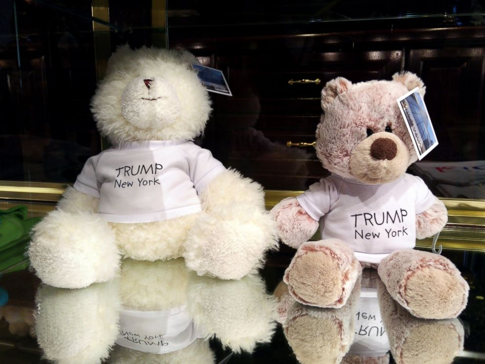 PHOTO: Products bearing Trumps name that are from China and sold in New York City.