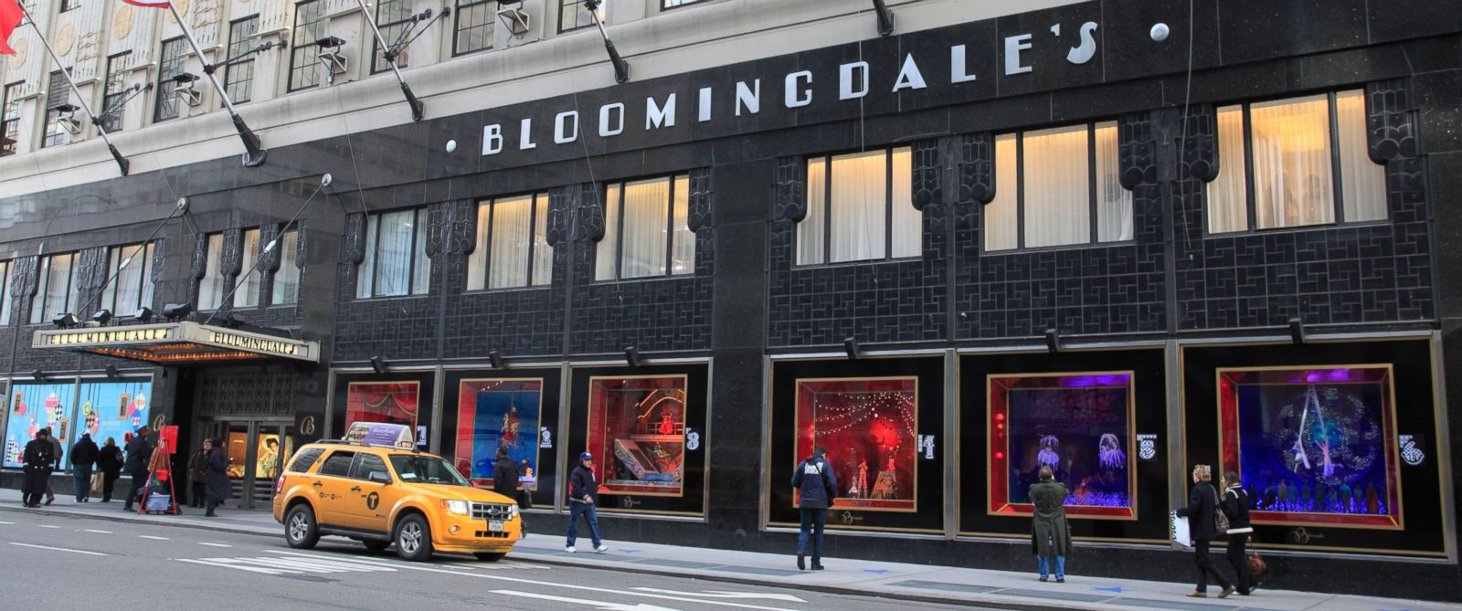 PHOTO: Shoppers pass by Bloomingdales department store in New York in this Dec. 6, 2012 stock photo.