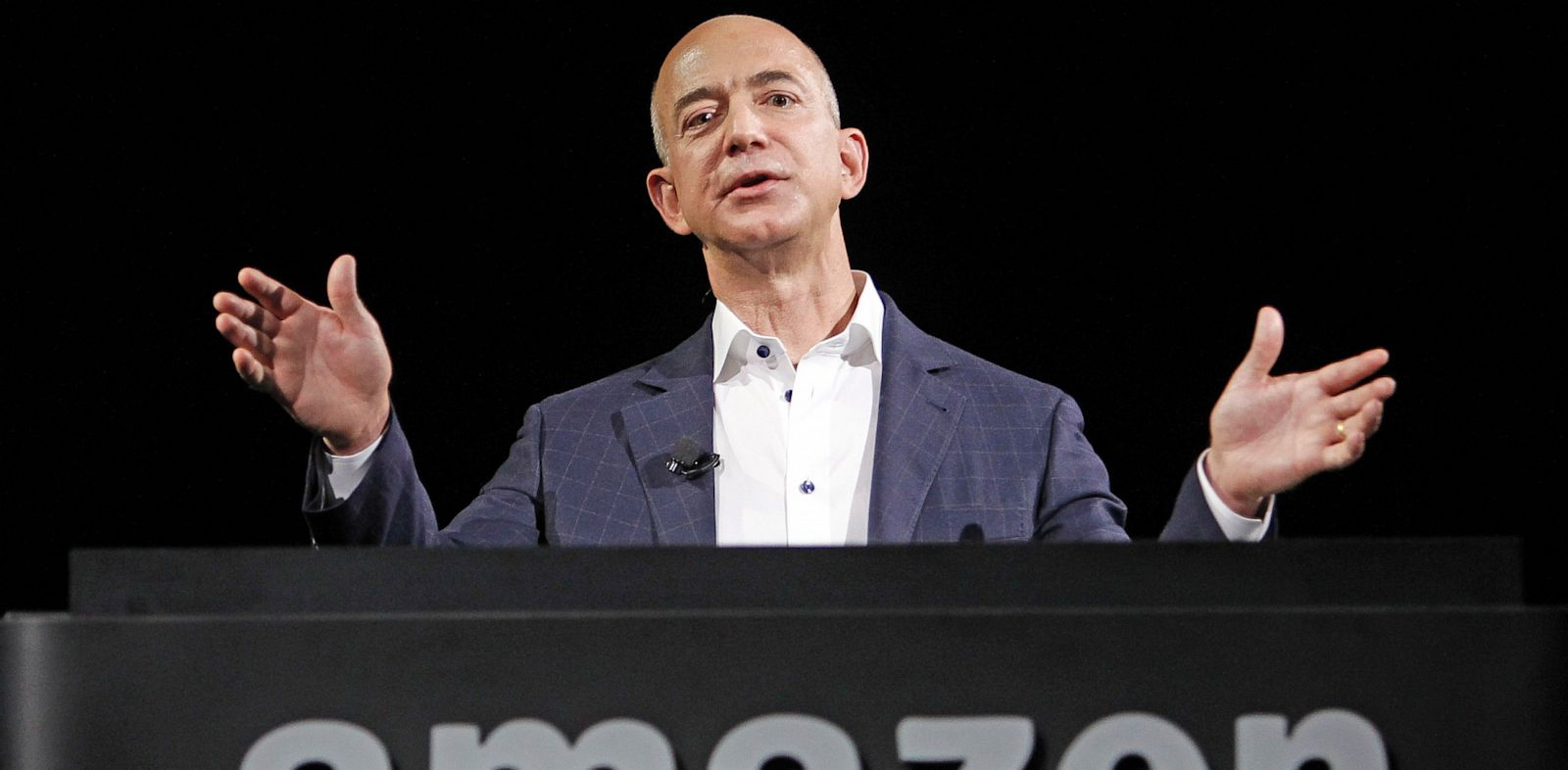 PHOTO: Amazon founder and CEO Jeff Bezos