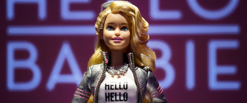 PHOTO:Hello Barbie is displayed at the Mattel showroom at the North American International Toy Fair, Feb. 14, 2015 in New York.