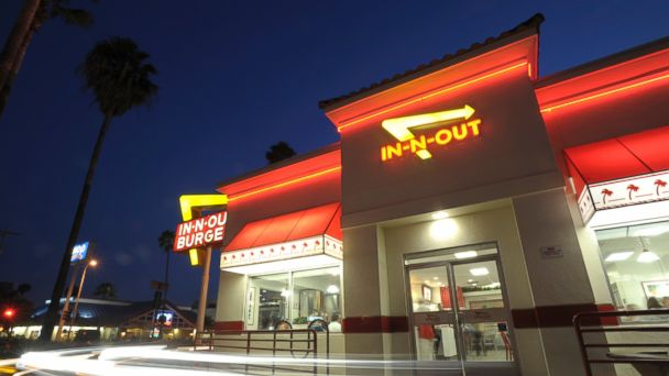 PHOTO: In this file photo, an In-N-Out Burger is picture on Jun. 11, 2010 in Hollywood, Calif.