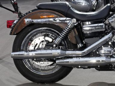 Photos: Pope's Harley at Paris