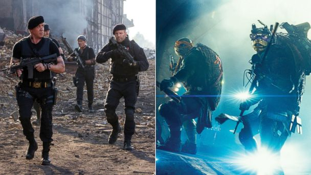 AP turtles expendables 2 sk 140815 v16x9 16x9 608 Box Office Battle: 80s Action Stars vs. 80s Action Turtles