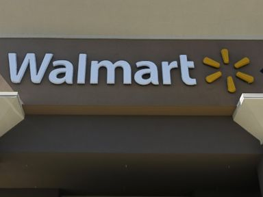 PHOTO: In this file photo, the sign of a Walmart store is pictured in San Jose, Calif. on Sept. 19, 2013.