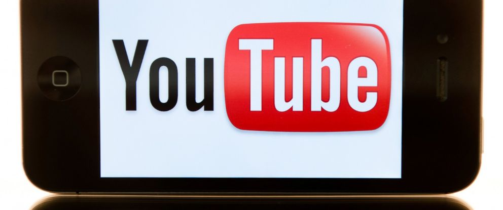 PHOTO: YouTube is pictured on a smartphone in this file photo.