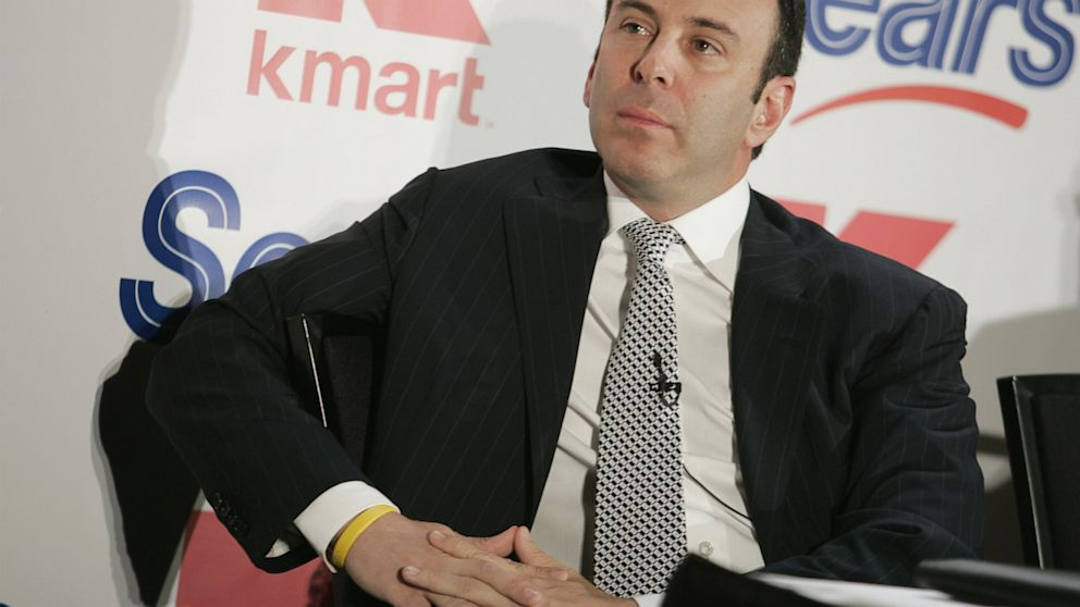 "PHOTO: Edward ""Eddie"" Lampert, CEO of Sears Holdings"