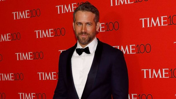 PHOTO: Ryan Reynolds attends the 2017 Time 100 Gala at Jazz at Lincoln Center, on April 25, 2017, in New York City.