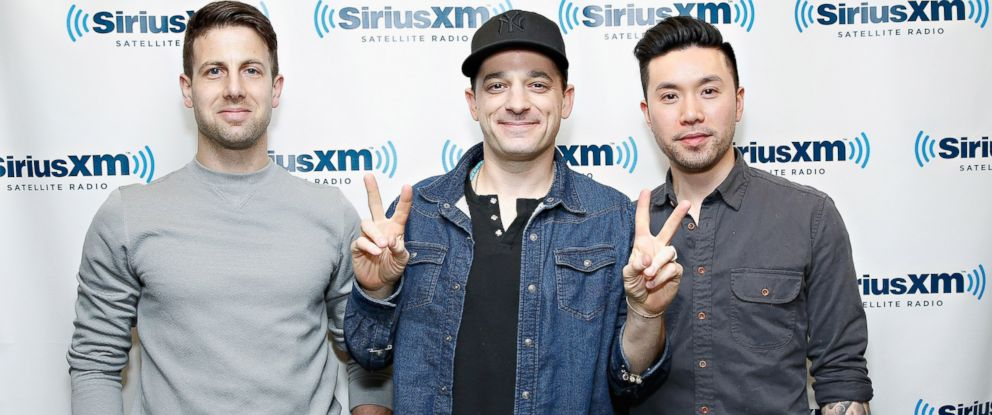 PHOTO: Jerry DePizzo, Marc Roberge and Richard On of O.A.R. visit the SiriusXM Studios, March 18, 2014 in New York.