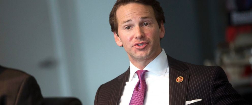 PHOTO: Rep. Aaron Schock, R-Ill., speaks during an interview in Washington, Jan. 9, 2014.