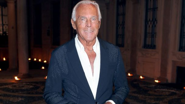 PHOTO: Giorgio Armani attends the Whos On Next? party in Milan, Italy, Sept. 22, 2010.