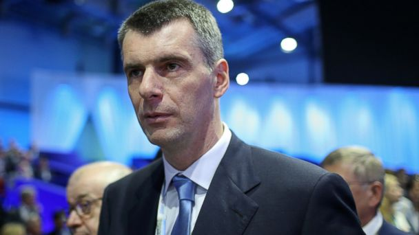 PHOTO: Russian billionaire Mikhail Prokhorov