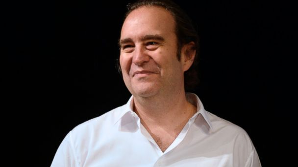 "PHOTO: Billionaire and founder of ""Free"" Xavier Niel is pictured at the Paris Theatre in Paris"