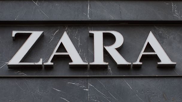 PHOTO: A logo is on display outside a Zara fashion store, in Utrecht, Netherlands, Nov. 29, 2013.