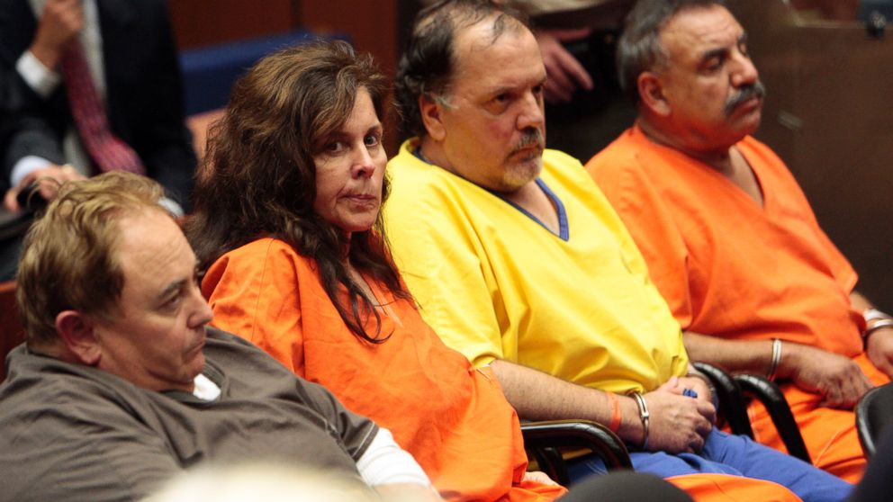 PHOTO: From left, Robert Rizzo, Angela Spaccia, Victor Bello and former Mayor Oscar Hernandez