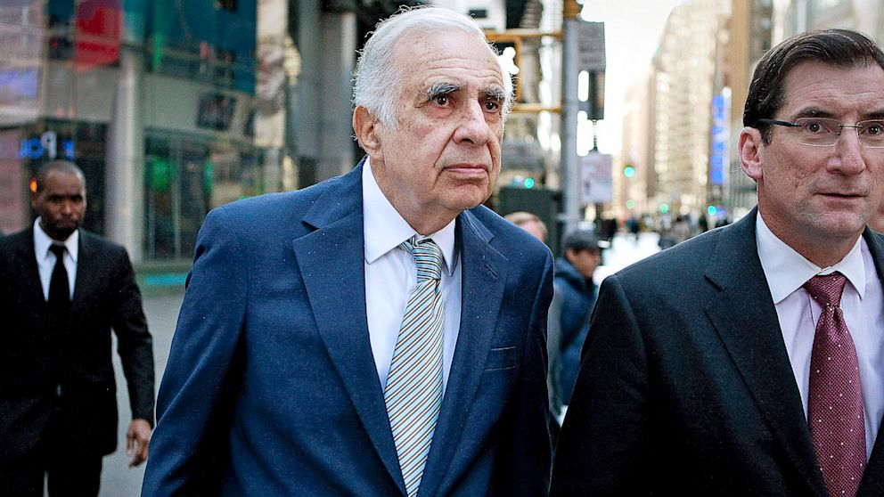 PHOTO: Carl Icahn,