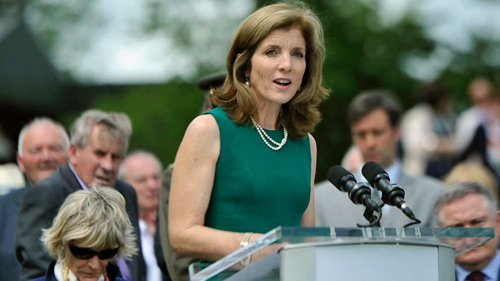 PHOTO: Caroline Kennedy Releases Her Earnings