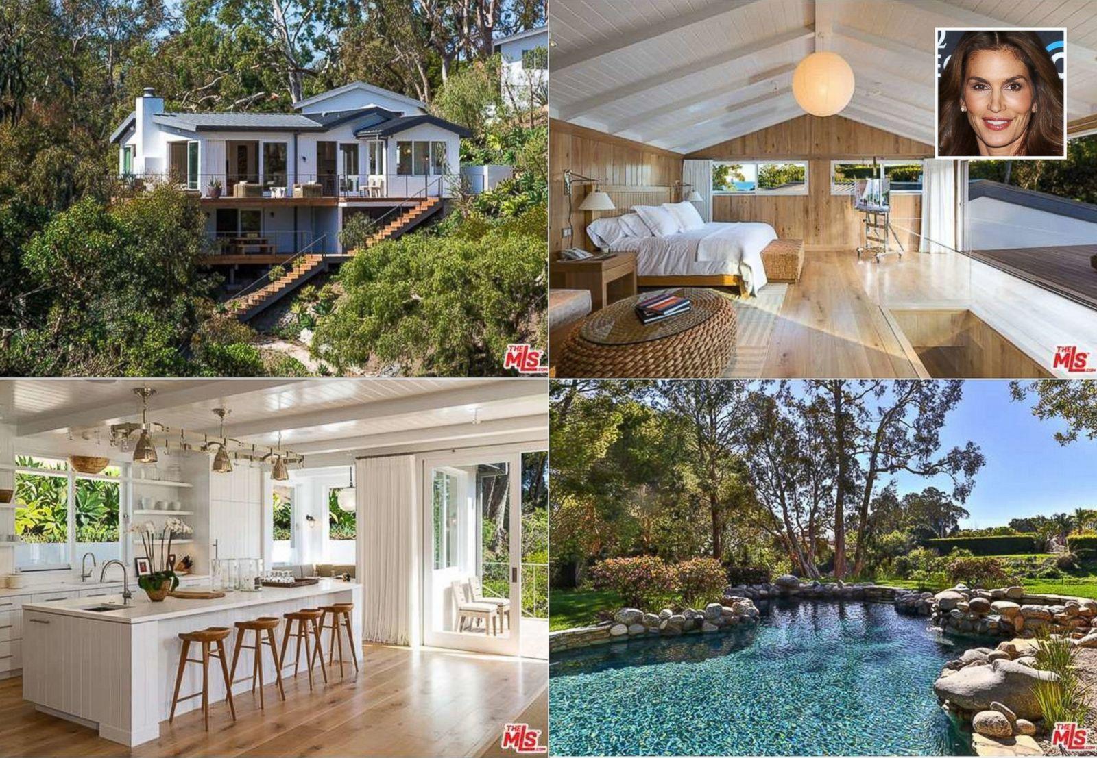 Cindy Crawford Home Cindy Crawford Lists Malibu Home For 155m Abc News