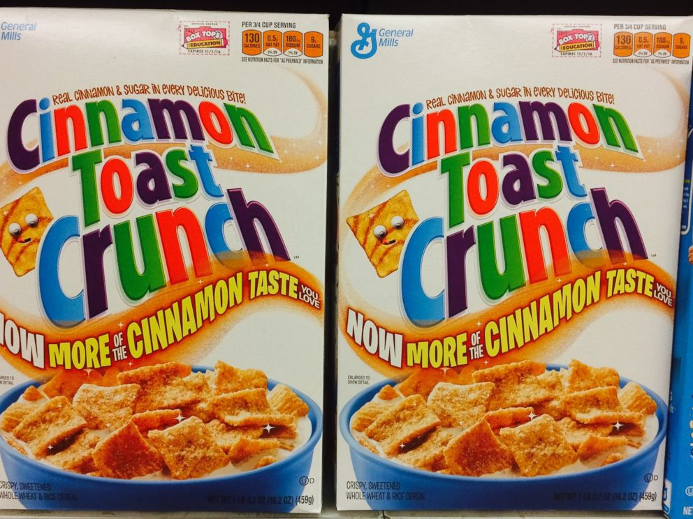 PHOTO: General Mills Cinnamon Toast Crunch is pictured in this stock photo.