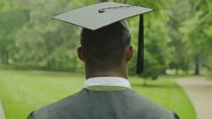 PHOTO: A college graduate is pictured in this stock photo.