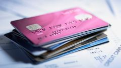 PHOTO: In this stock image, a stack of credit cards are pictured.