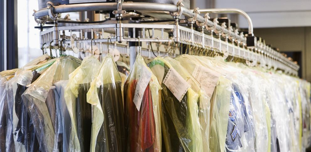 PHOTO: From garment bags to removing stains, ABC News 20/20 busted these dry cleaning myths.