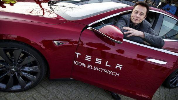 GTY elon musk tesla tk 140211 16x9 608 Its Electric! Tesla Stock Soars to All Time High