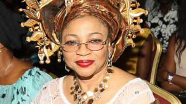 PHOTO: Folorunsho Alakija attends a fashion show, Dec. 27, 2012, in Lagos, Nigeria.