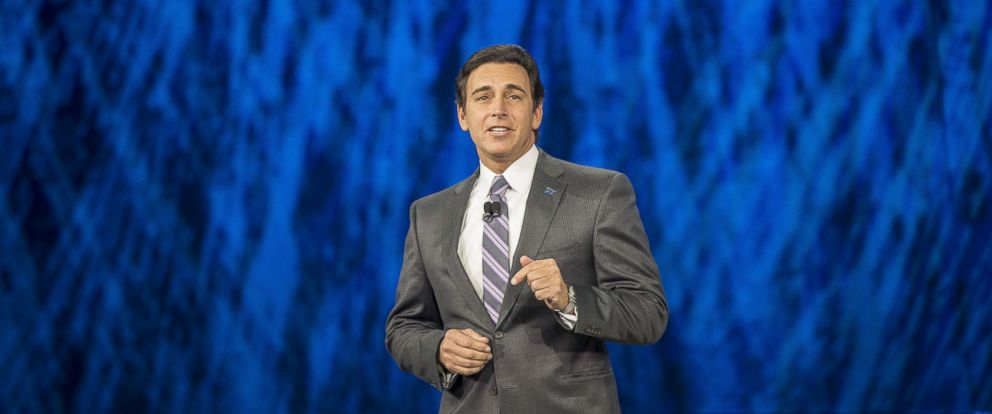 PHOTO: Mark Fields, President and CEO of Ford Motor Company