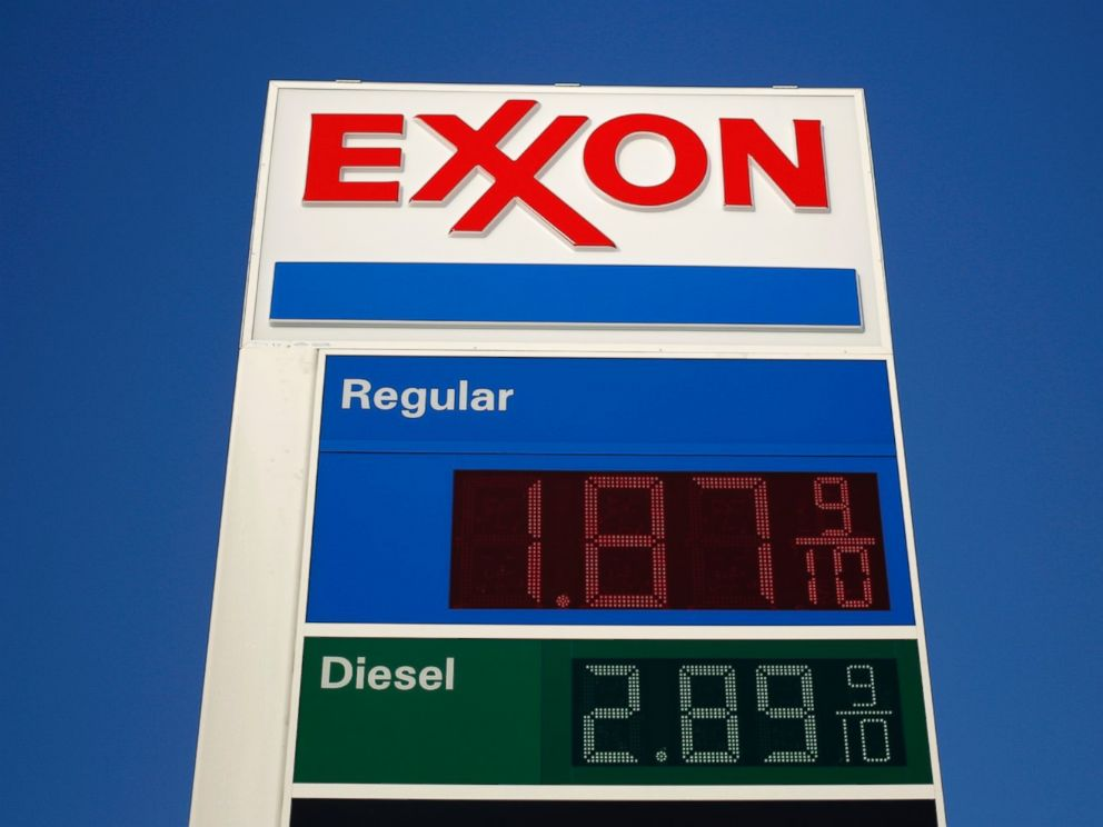 Exxon Gas Station Credit Card
