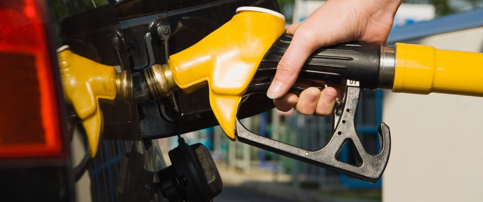 PHOTO: A person is pictured pumping gas in this stock image.